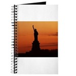 Statue of Liberty Silhouette Journal