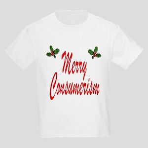 Merry Consumerism Kids Light T-Shirt