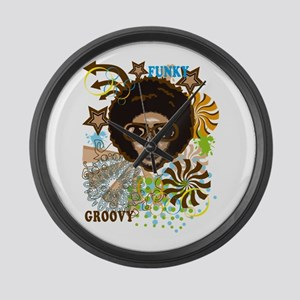 FUNKY Large Wall Clock