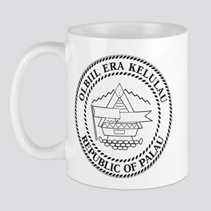 Palau Coat Of Arms Mug