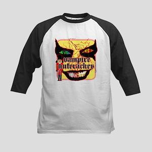 Vampire Nutcracker Kids Baseball Jersey