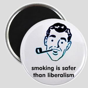 "Smoking is Safer 2.25"" Magnet (10 pack)"