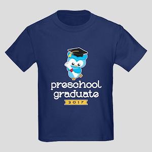 Preschool Grad 2017 Kids Dark T-Shirt