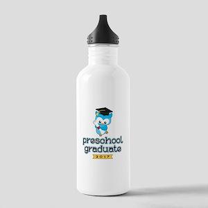 Preschool Grad 2017 Stainless Water Bottle 1.0L