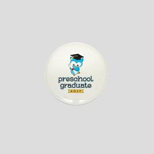 Preschool Grad 2017 Mini Button
