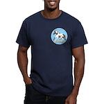 Paint Horse Power Men's Fitted T-Shirt (dark)