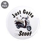 """Just Gotta Scoot Joker 3.5"""" Button (10 pack)"""