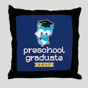Preschool Grad 2017 Throw Pillow