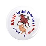 "Bay Stallion & Lion Roar for ROAM 3.5"" Button"
