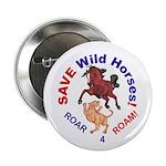 "Bay Stallion & Lion Roar for ROAM 2.25"" Button (10"