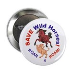 "Bay Stallion & Lion Roar for ROAM 2.25"" Button"