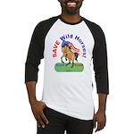 Buckskin Wild Horse ROAR for ROAM Baseball Jersey
