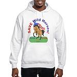 Buckskin Wild Horse ROAR for ROAM Hooded Sweatshir