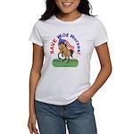 Buckskin Wild Horse ROAR for ROAM Women's T-Shirt