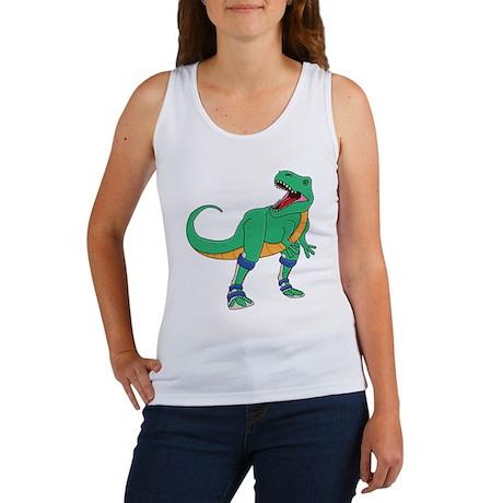 Dino with Leg Braces Women's Tank Top