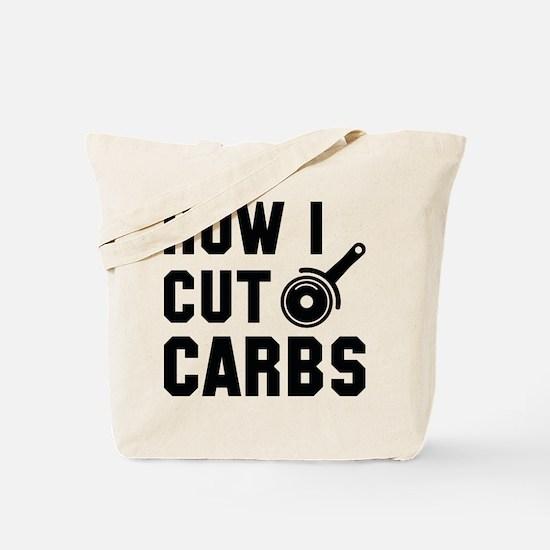How I Cut Carbs Tote Bag