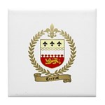 TERRIOT Family Crest Tile Coaster