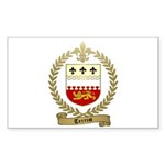 TERRIOT Family Crest Rectangle Sticker 10 pk)