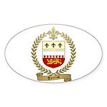 TERRIOT Family Crest Oval Sticker (10 pk)