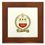 TERRIOT Family Crest Framed Tile