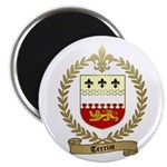 "TERRIOT Family Crest 2.25"" Magnet (10 pack)"