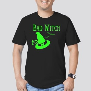"""""""Bad Witch"""" Men's Fitted T-Shirt"""