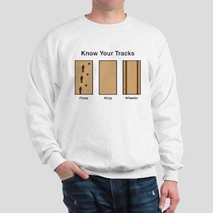 Know Your Tracks Sweatshirt