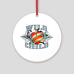 Wild Child Ornament (Round)