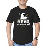 Head of the Class Men's Fitted T-Shirt (dark)