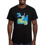 3am Eternal 80s Men's Fitted T-Shirt (dark)