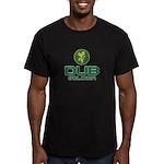 Dub Soldier Lion Men's Fitted T-Shirt (dark)