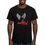 Sexy Biker Babes Men's Fitted T-Shirt (dark)