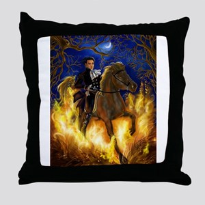 The Highwayman Throw Pillow