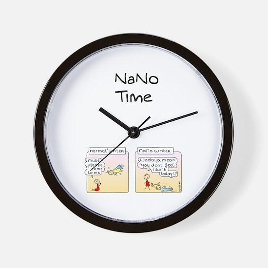 Unique Nano day Wall Clock