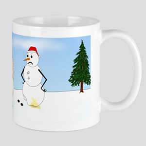 French Bulldog Holiday Mug
