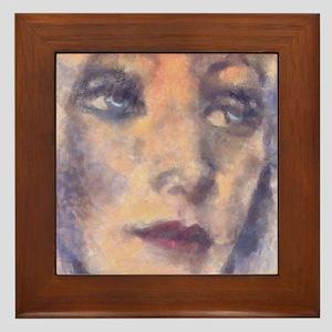 """""""Tracy"""" Framed Tile"""