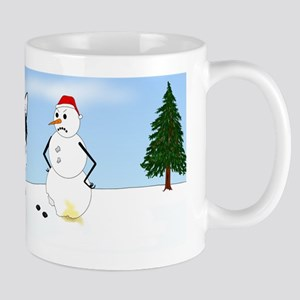 Siberian Husky Holiday Mug