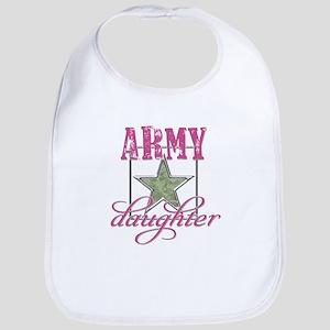 Army Daughter Bib