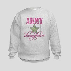 Army Daughter Kids Sweatshirt