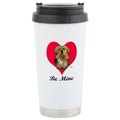 Yorkshire Terrier Valentine Stainless Steel Travel