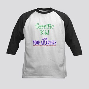 Terrific Kid with Food Allergies Kids Baseball Jer
