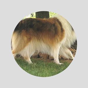 """Lassie the Collie 3.5"""" Button"""
