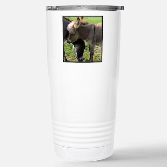 Baby Mini Donkey Hug Stainless Steel Travel Mug