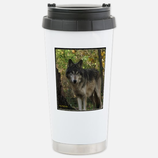 Wolf Spirit Stainless Steel Travel Mug