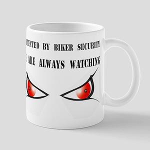 PROTECTED BY BIKER SECURITY Mug