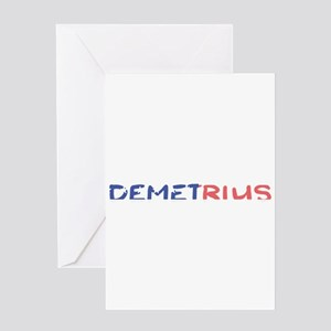 Demetrius Greeting Cards