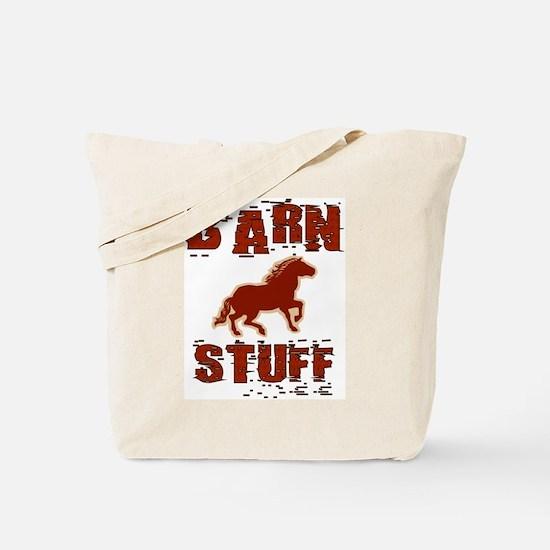 Barn Stuff Horse Tote Bag