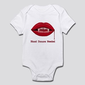Blood Donors Needed Infant Bodysuit