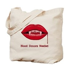 Blood Donors Needed Tote Bag