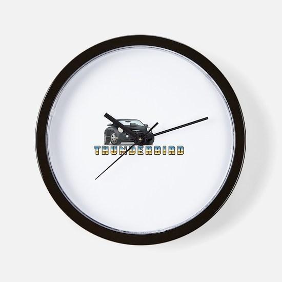 2002-2005 Thunderbird Wall Clock